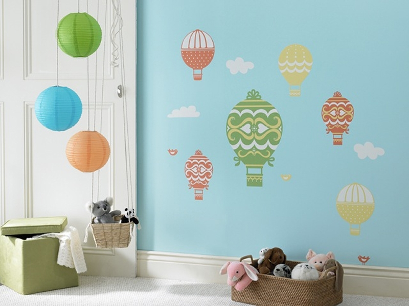 Featured Photo of Fabric Wall Art Stickers
