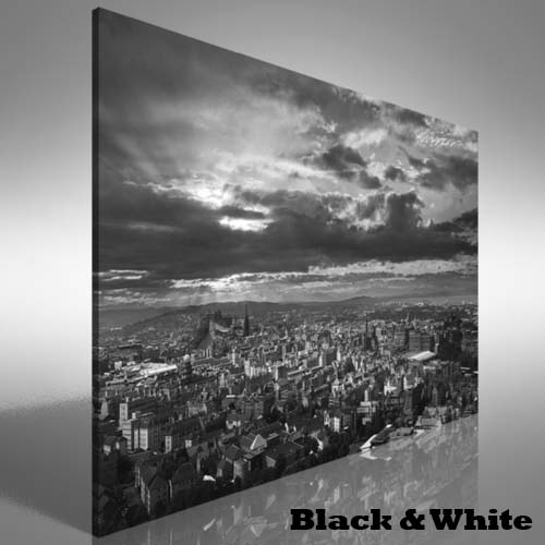 Edinburgh Skyline Canvas Print Large Picture Wall Art | Ebay Throughout Edinburgh Canvas Prints Wall Art (Image 10 of 15)