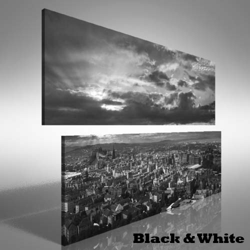Edinburgh Skyline Double Canvas Print Large Picture Wall Art | Ebay Within Edinburgh Canvas Prints Wall Art (Image 11 of 15)