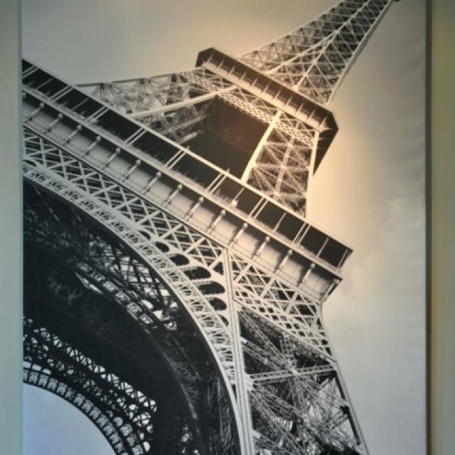 Eiffel Tower Wall Art Tower Wall Decor Tower Wall Art Tower Wall With Regard To Eiffel Tower Canvas Wall Art (View 13 of 15)