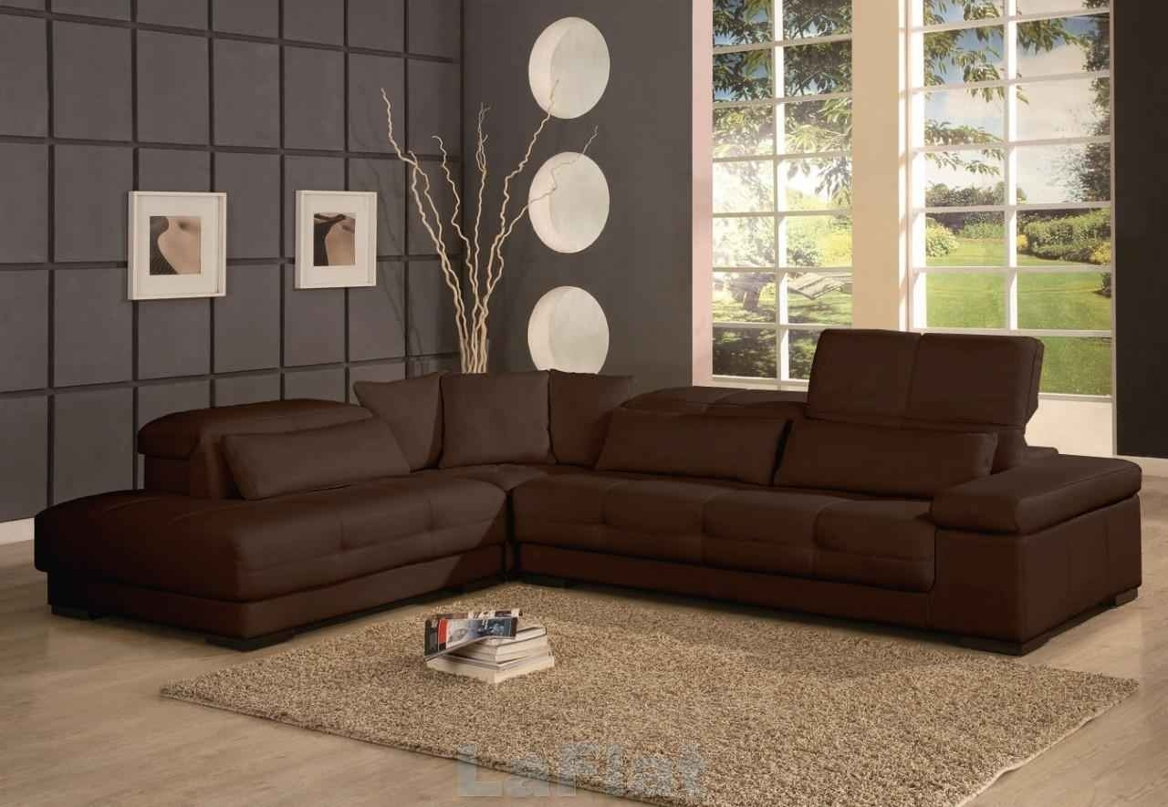 Elegant Chocolate Brown Sectional Sofas 20 For Sectional Sofas Tulsa For Chocolate Brown Sectional Sofas (Image 6 of 10)