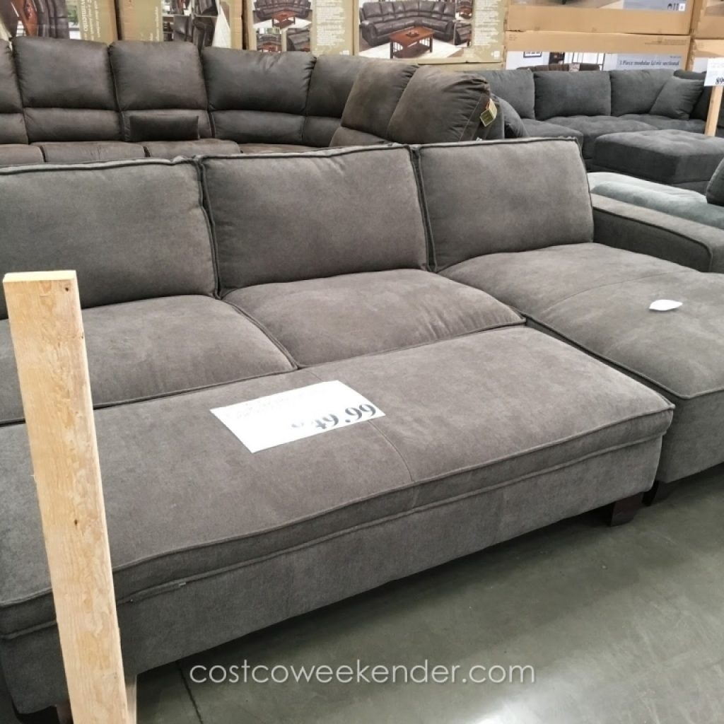 Elegant Goose Down Sectional Sofa – Buildsimplehome Pertaining To Down Sectional Sofas (Image 2 of 10)