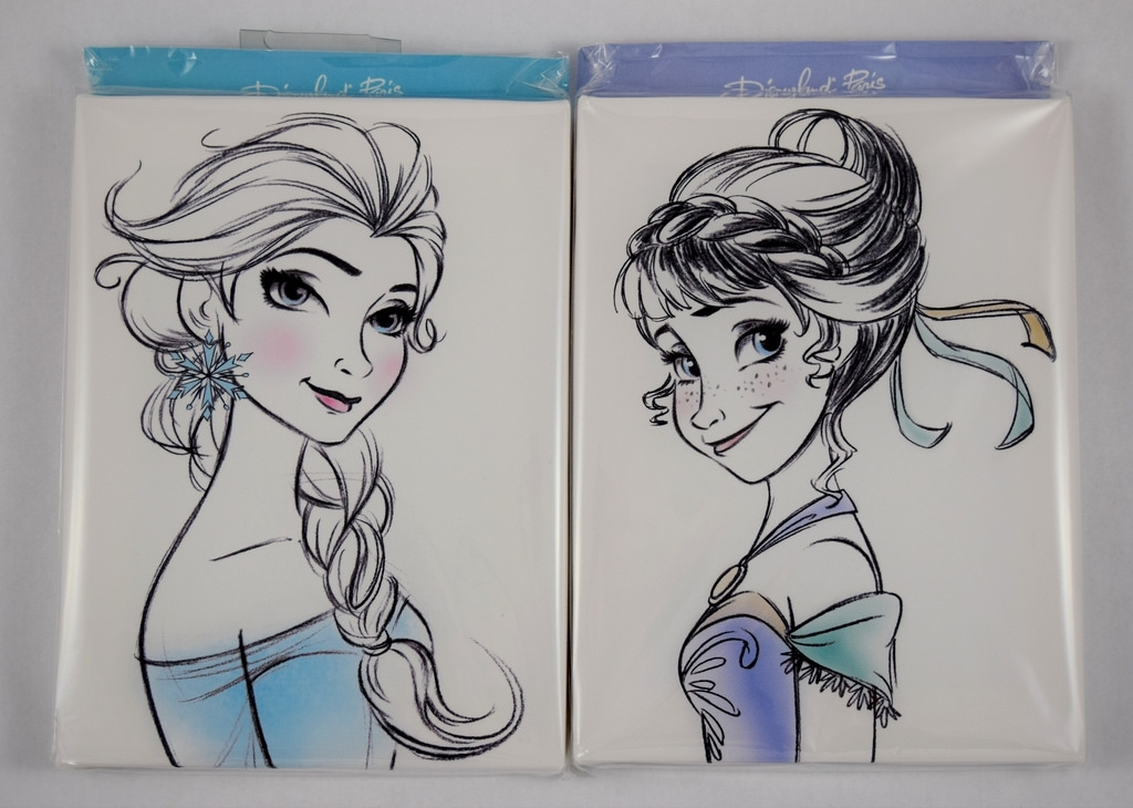 Elsa And Anna Mini Canvas Prints – Disneyland Paris – In P… | Flickr Throughout Elsa Canvas Wall Art (Image 11 of 15)