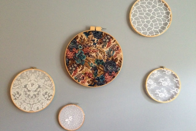 Embroidery Hoop Wall Art – Fashion. Food. Flair (View 5 of 15)