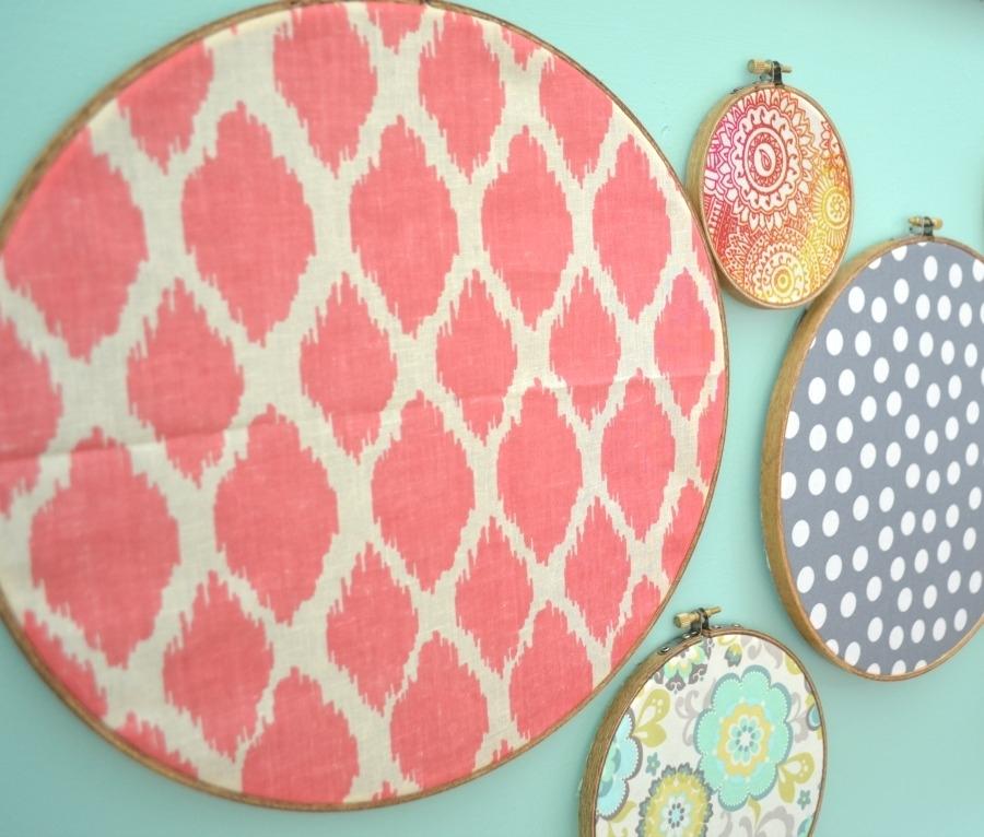 Embroidery Hoop Wall Art – I Am A Homemaker Within Embroidery Hoop Fabric Wall Art (View 7 of 15)
