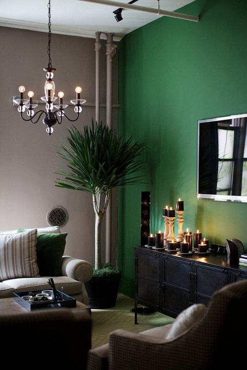 Featured Photo of Green Wall Accents