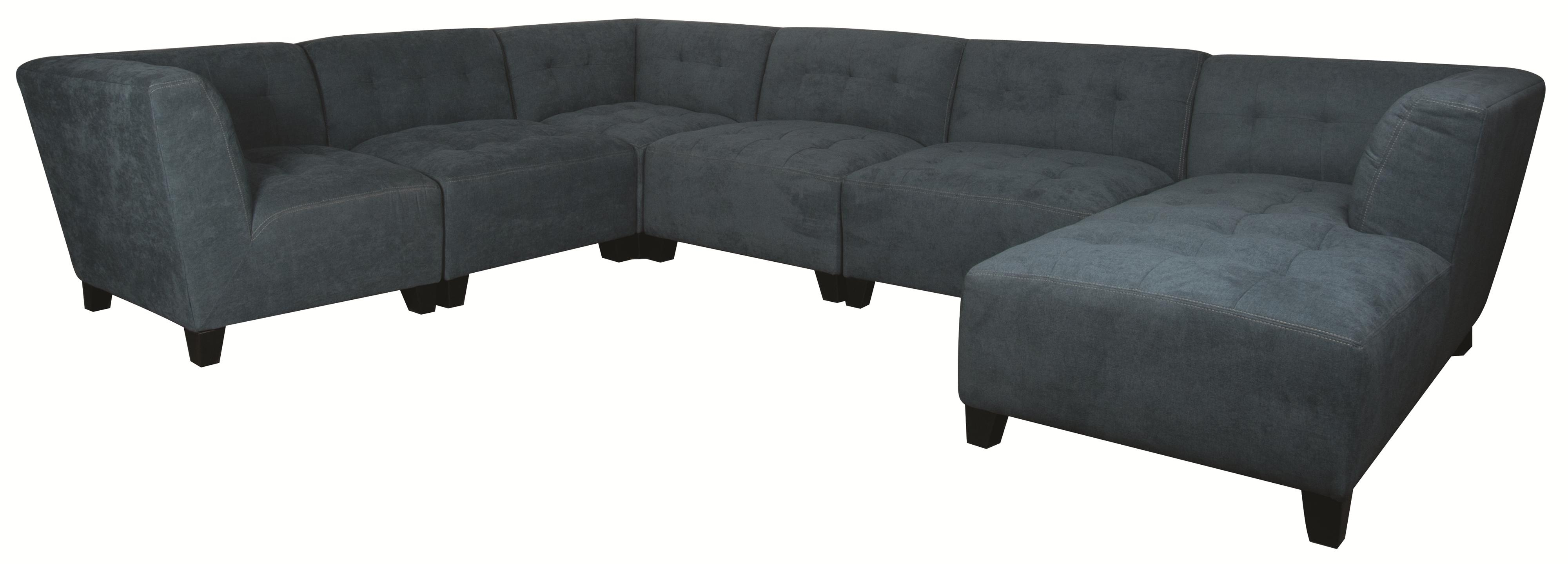 Emerson 6 Piece Sectional Sofa – Morris Home Furnishings – Sofa For Dayton Ohio Sectional Sofas (Image 4 of 10)