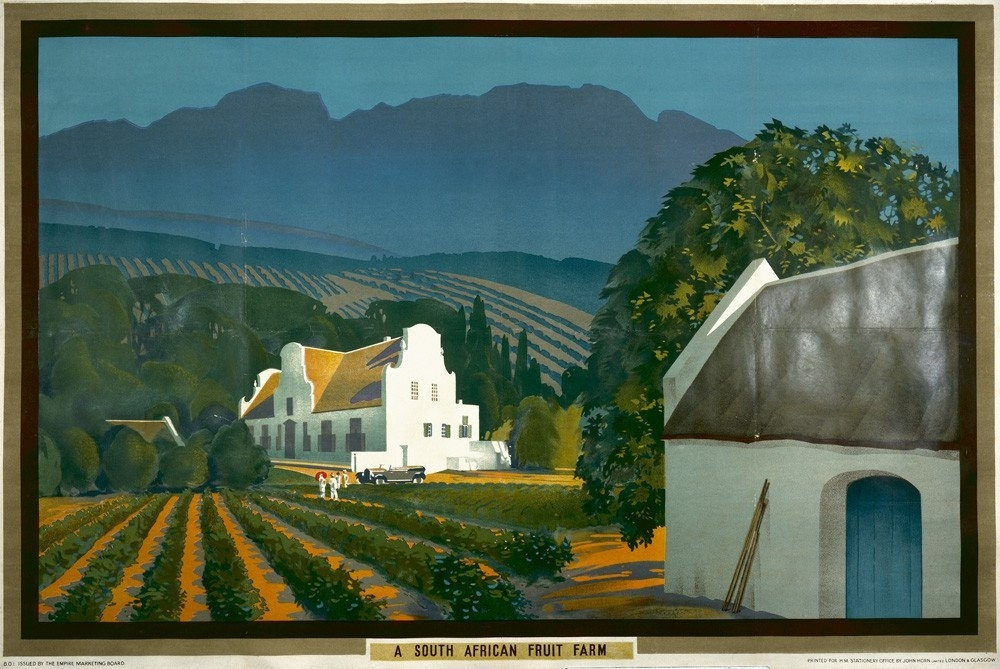 Empire Marketing Board – A South African Fruit Farm Art Print Inside South Africa Framed Art Prints (View 8 of 15)