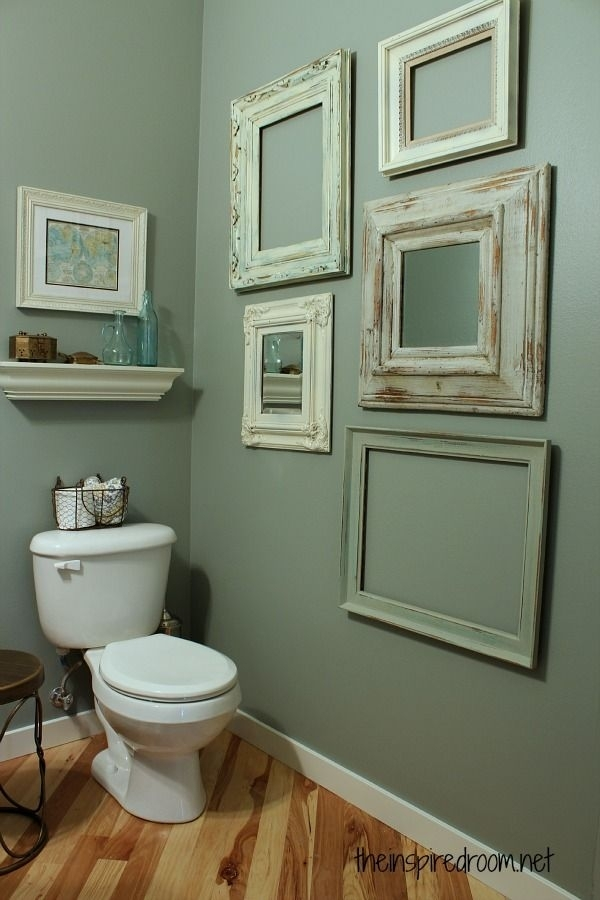 Enchanting Best 25 Bathroom Wall Decor Ideas On Pinterest Half Of Throughout Wall Accents For Bathroom (View 8 of 15)