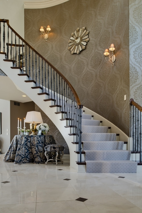 Enchanting Staircase Wall Decorating Ideas Staircase Wall For Staircase Wall Accents (Image 7 of 15)