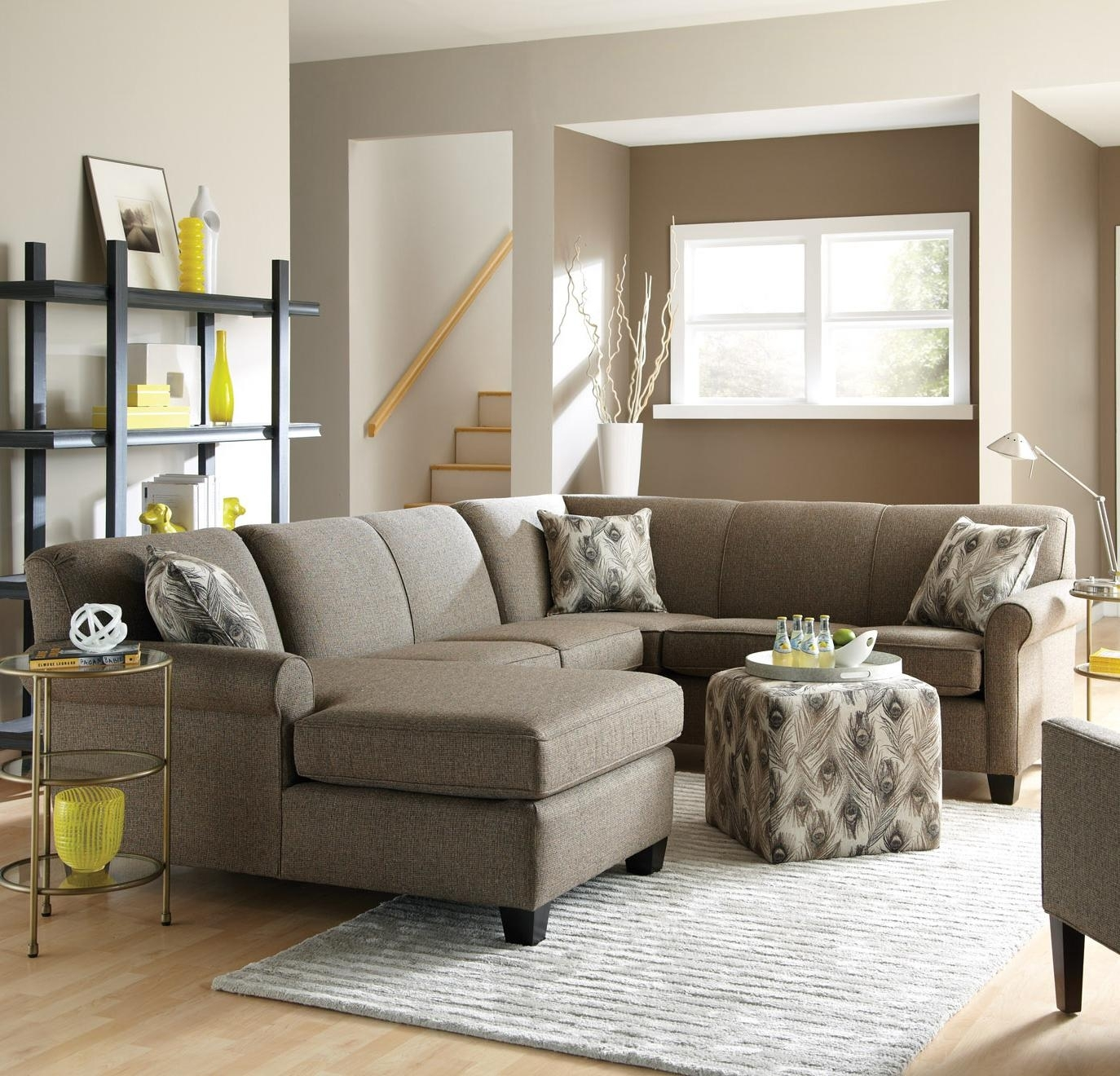 England Abalone Long Sectional Sofa With Chaise | Efo Furniture Pertaining To England Sectional Sofas (View 8 of 10)