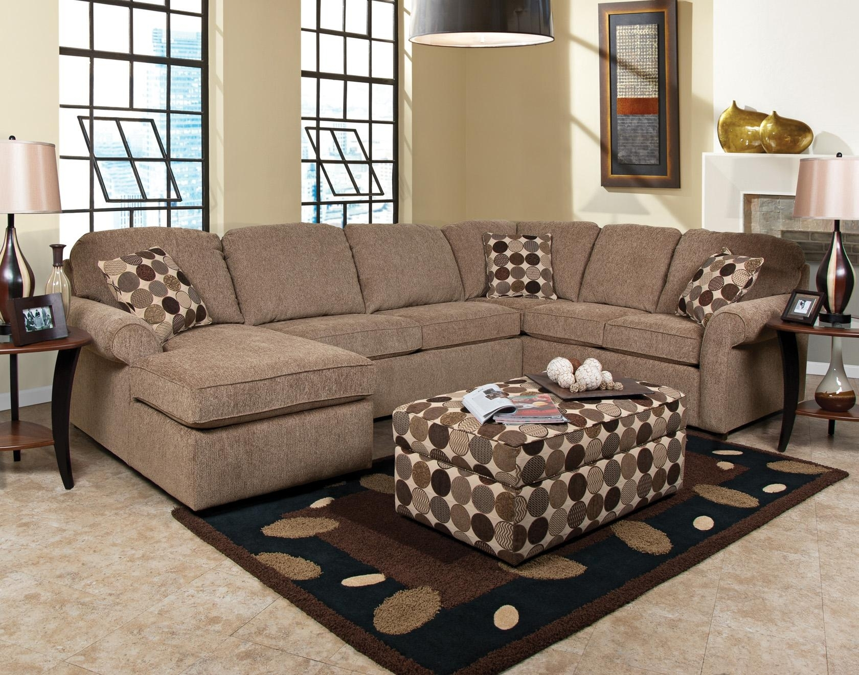England Malibu 5 6 Seat (Right Side) Chaise Sectional Sofa Regarding England Sectional Sofas (View 1 of 10)
