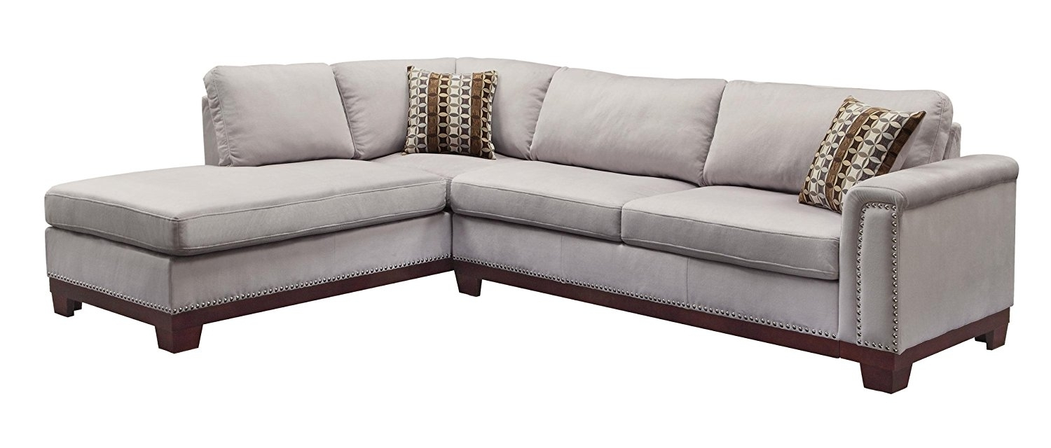 Epic Sectional Sofa With Nailhead Trim 71 In Office Sofa Ideas With In Sectional Sofas With Nailheads (View 9 of 10)