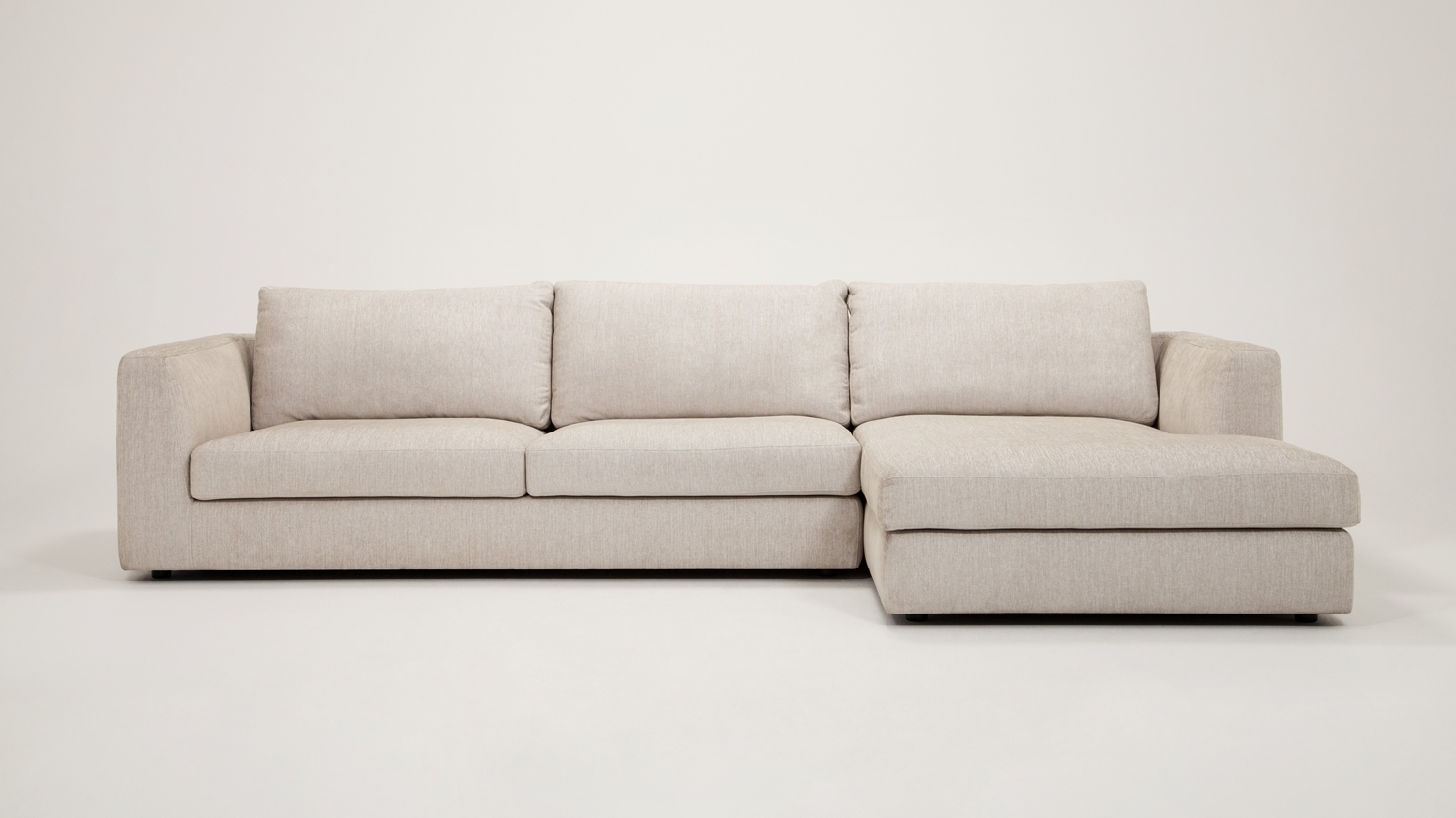Eq3 | Cello 2 Piece Sectional Sofa With Chaise – Fabric Regarding Eq3 Sectional Sofas (View 9 of 10)