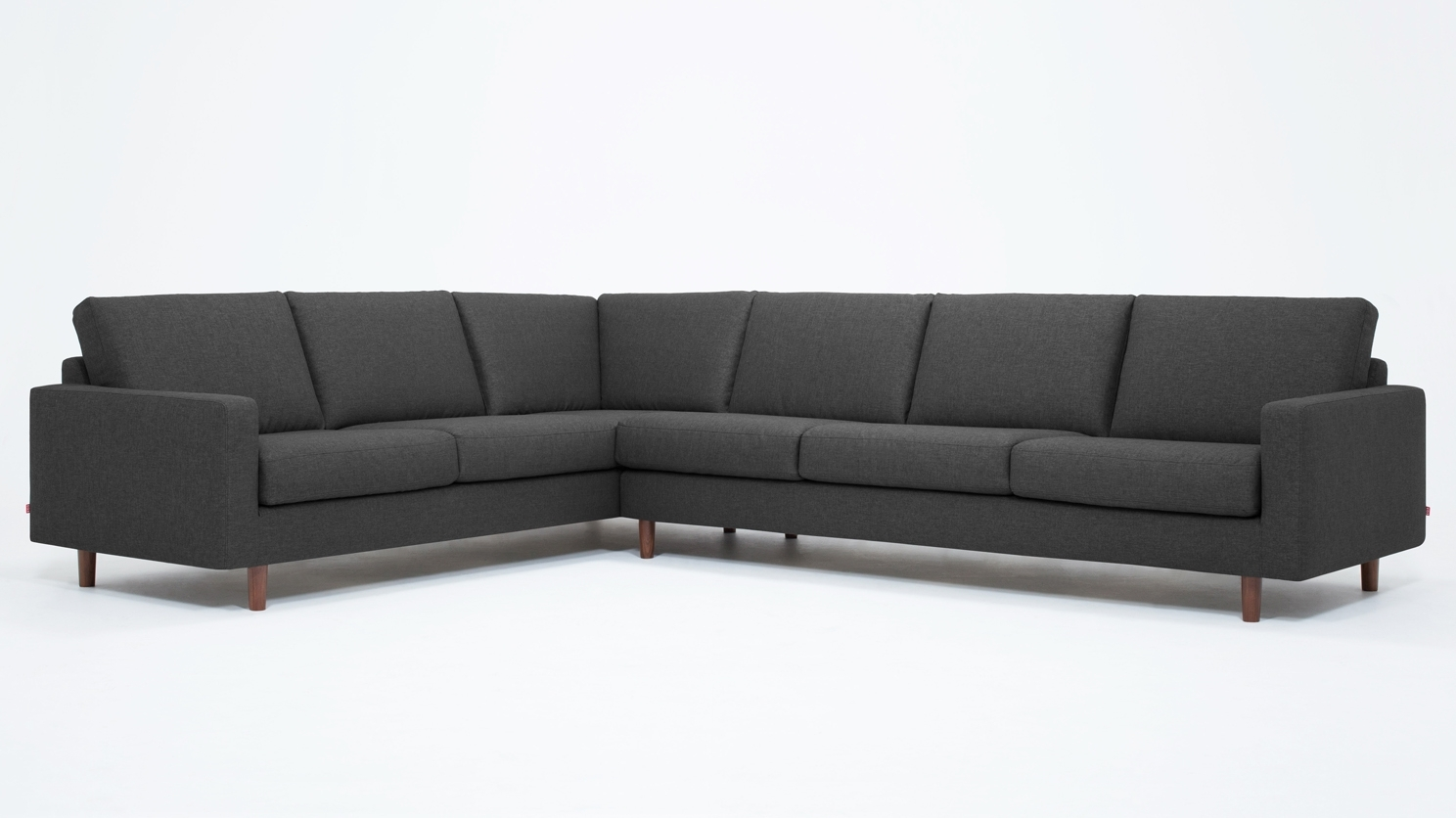 Eq3 | Oskar 2 Piece Sectional Sofa – Fabric With Regard To Eq3 Sectional Sofas (Image 7 of 10)