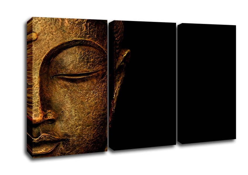 Ethnic 3 Panel Canvas Artwallart Direct.co (View 5 of 15)