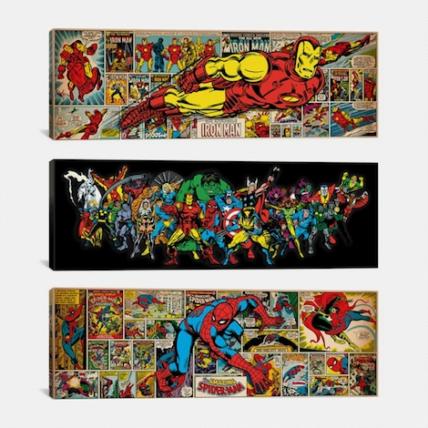 Exclusive Marvel Character Canvas Prints 63% Off – Thrifty Jinxy Regarding Marvel Canvas Wall Art (Image 8 of 15)