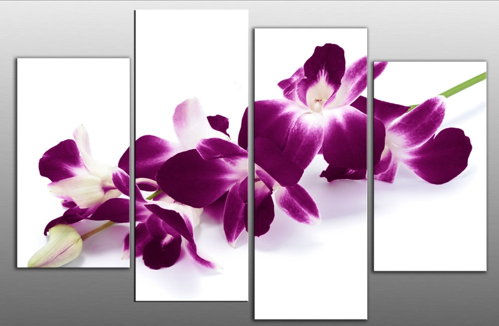 Exquisite Ideas Pu Design Inspiration Purple Canvas Wall Art Intended For Canvas Wall Art In Purple (View 6 of 15)