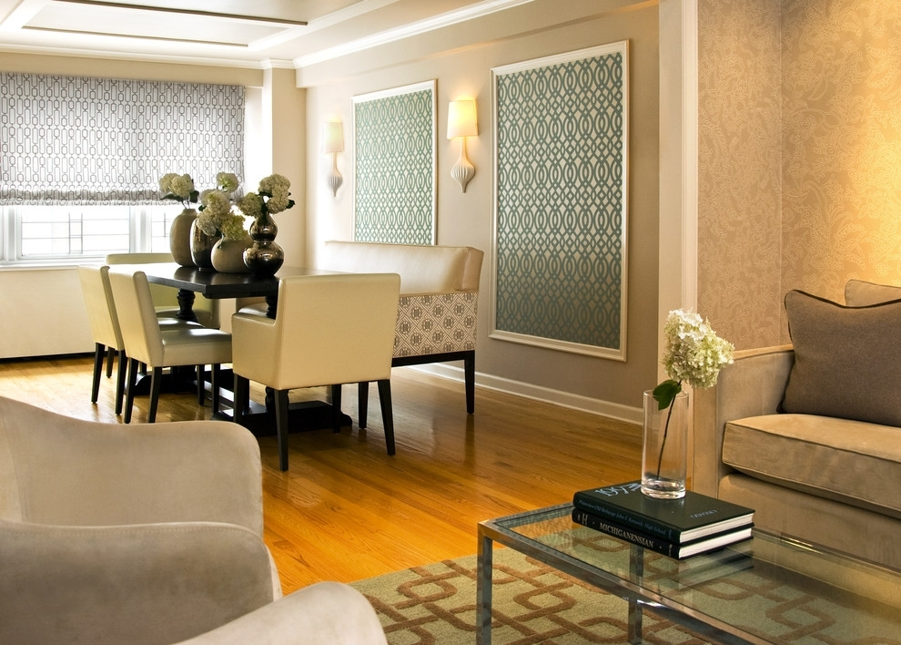 Fabric Accent Wall Panels : Color Ideas For Accent Wall Panels With Regard To Fabric Wall Accents (Image 7 of 15)