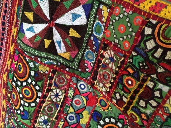 Fabric Indulgence, Fabricandart, Fabrics From Around The World With Regard To Indian Fabric Art Wall Hangings (Image 7 of 15)