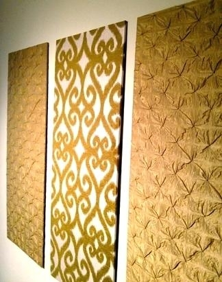 Fabric Panel Wall Art – Megaups With Regard To Fabric Panel Wall Art With Embellishments (Image 5 of 15)