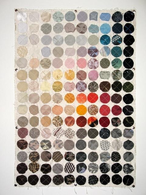 Fabric Swatch Wall Hanging – Lillian Dunham Production Portfolio Inside Fabric Swatch Wall Art (View 4 of 15)