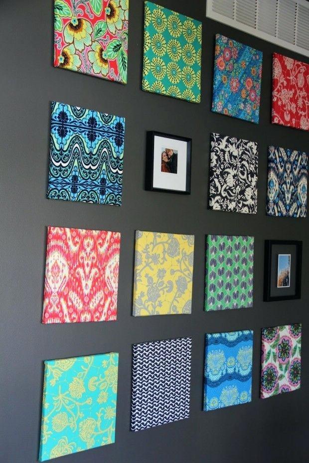 Fabric Wall Art Best Fabric Canvas Art Ideas On Fabric Wall Art Throughout Canvas And Fabric Wall Art (View 9 of 15)