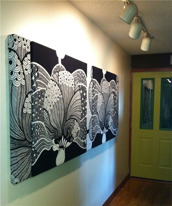 Fabric Wall Art Panels | Home Design Ideas Intended For Fabric Wall Art Panels (View 9 of 15)