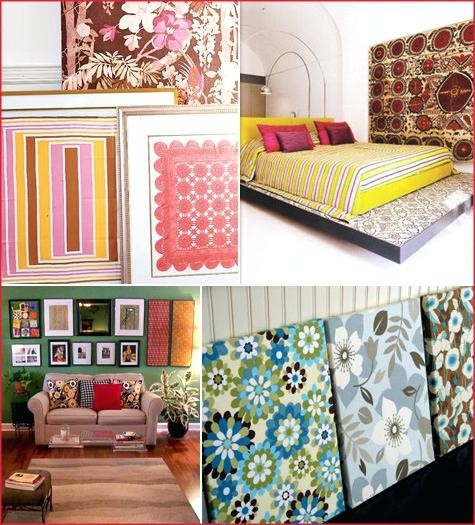 Fabric Wall Art Textiles As Wall Art Adding Patterns To Your Space Inside Fabric Wall Art Patterns (View 4 of 15)