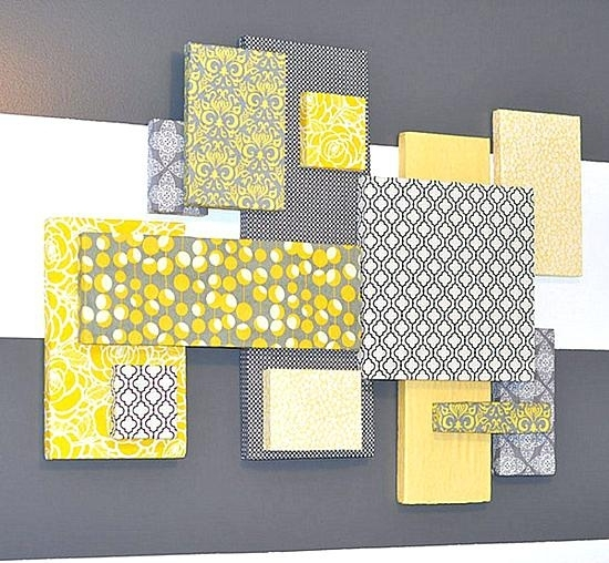 Fabric Wall Hangings Diy And Fabric Wall Art – Megaups With Diy Fabric Covered Wall Art (Image 8 of 15)