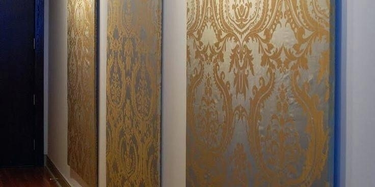 Fabric Wall Panels Diy Wall Panels Easy Fabric Wall Art Diy Wall Regarding Diy Fabric Panel Wall Art (Image 7 of 15)