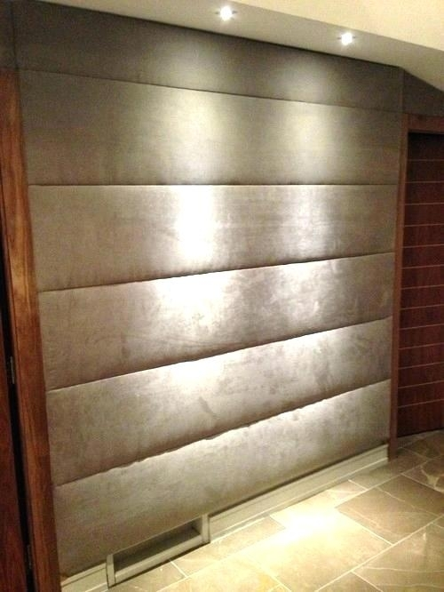 Fabric Walls In Bedroom Bedroom Fabric Wall Art – Serviette (View 12 of 15)