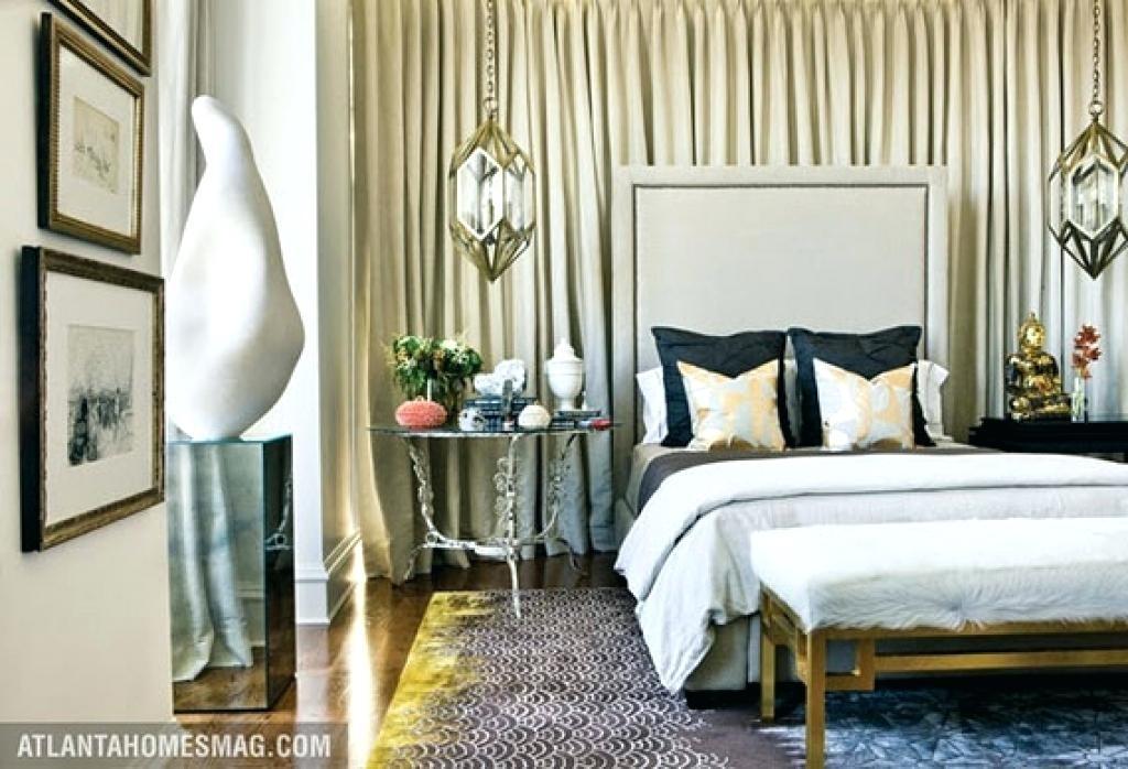 Fabric Walls In Bedroom – Serviette (View 5 of 15)