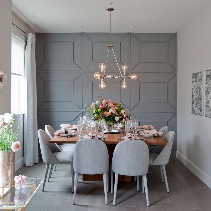 Fabulous Best 25 Dining Room Walls Ideas On Pinterest Wall At With Dining Room Wall Accents (Image 8 of 15)