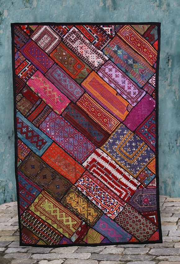 Fabulous Fair Trade, Handmade Vintage Kuchi Wall Hangings (Image 6 of 15)