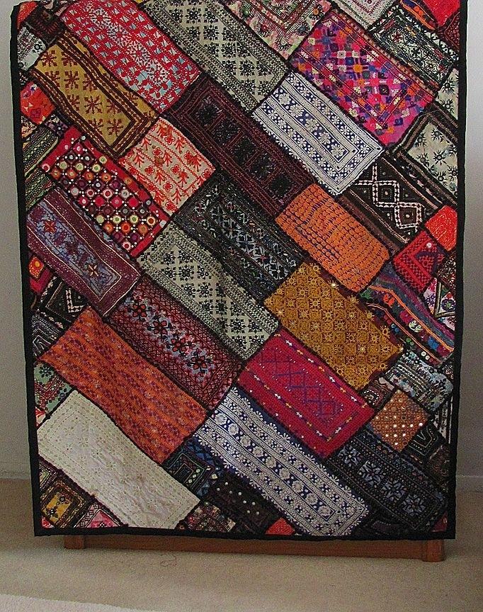 Fair Trade Kuchi Tapestry Wall Hanging. $99. (Image 9 of 15)