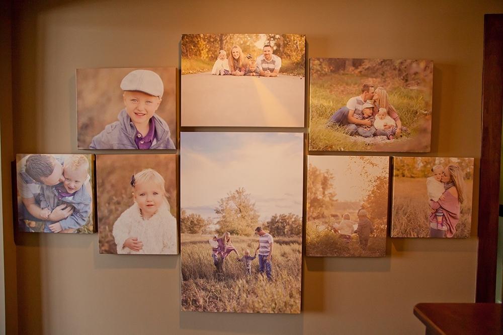 Family Art | Canvas Wall | Calgary Alberta Newborn Photographer Throughout Calgary Canvas Wall Art (Image 8 of 15)