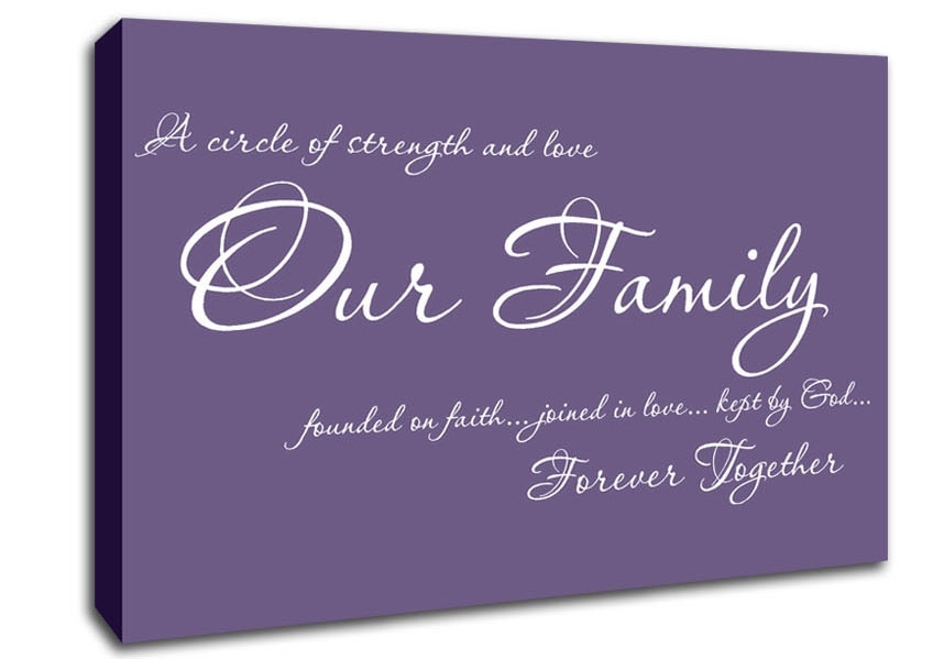 Family Quotes Canvas Art | Wallartdirect.co (Image 3 of 15)