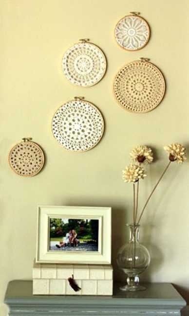 Fancy Diy Wall Decor With 10 Diy Wall Decor Ideas Recycled Crafts Inside Diy Wall Accents (Image 11 of 15)