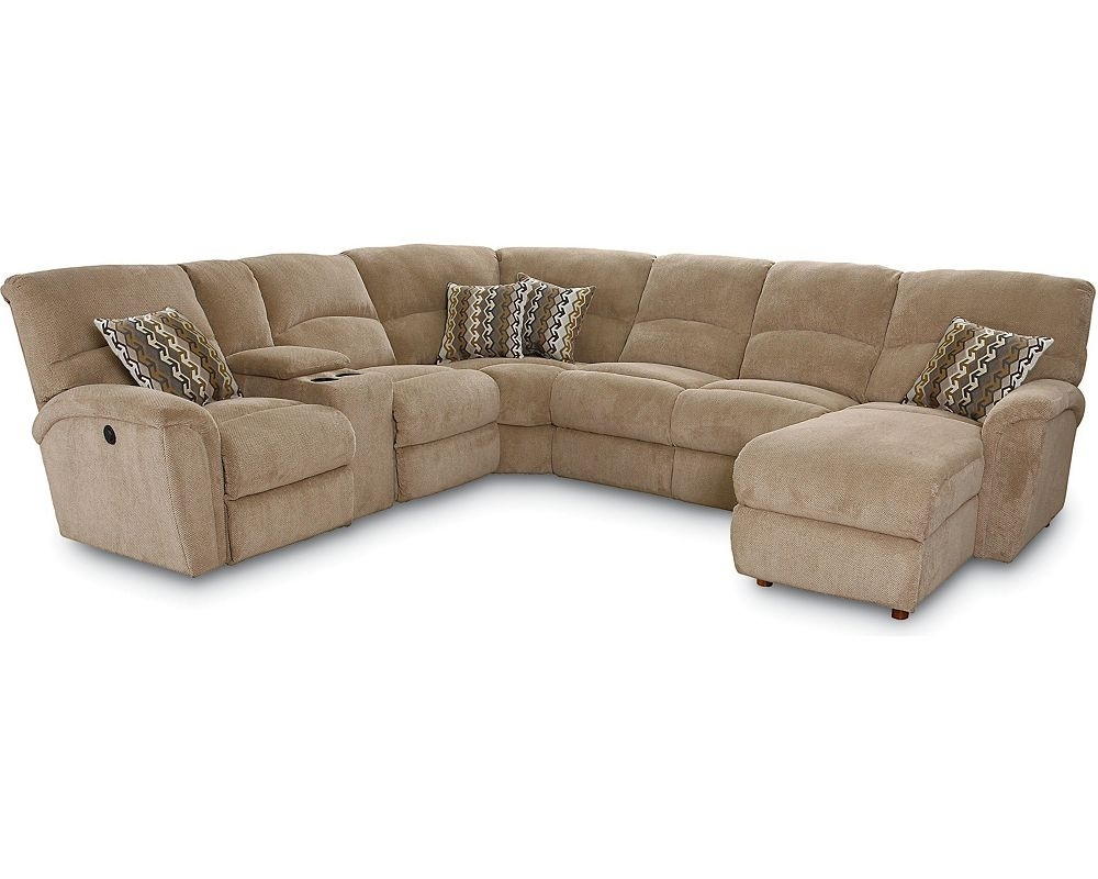 Fancy Reclining Sectional Sofa With Sleeper 36 For Your Sleek Regarding Sleek Sectional Sofas (View 5 of 10)