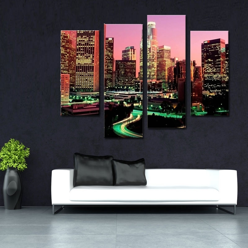 Fascinating 10+ Los Angeles Wall Art Decorating Design Of Los In Los Angeles Canvas Wall Art (View 8 of 15)