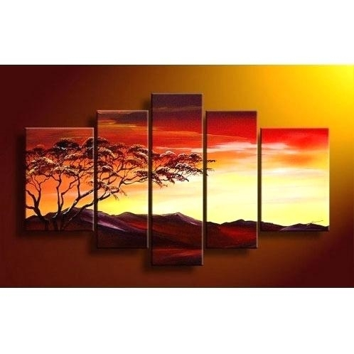 February 2018 – Boyintransit For Kohls 5 Piece Canvas Wall Art (View 15 of 15)