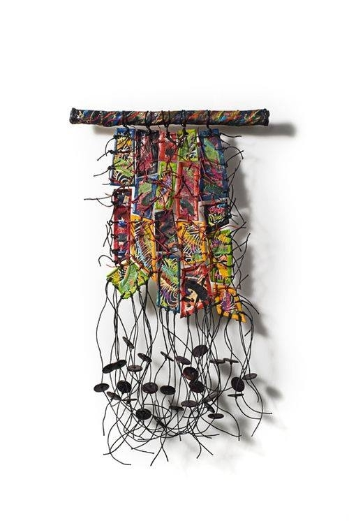 Fiber Art Now Abstract Weaving Contemporary Textile Art Wall With Contemporary Textile Wall Art (Image 8 of 15)