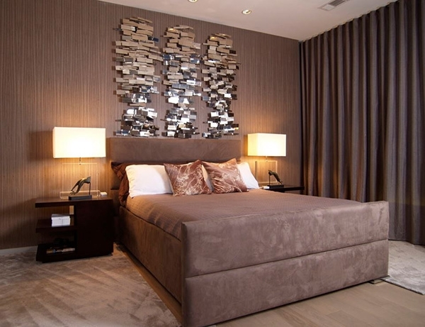 Fill Those Blank Walls With 20 Bedroom Wall Decorations | Home Within Wall Accents For Bedroom (View 13 of 15)