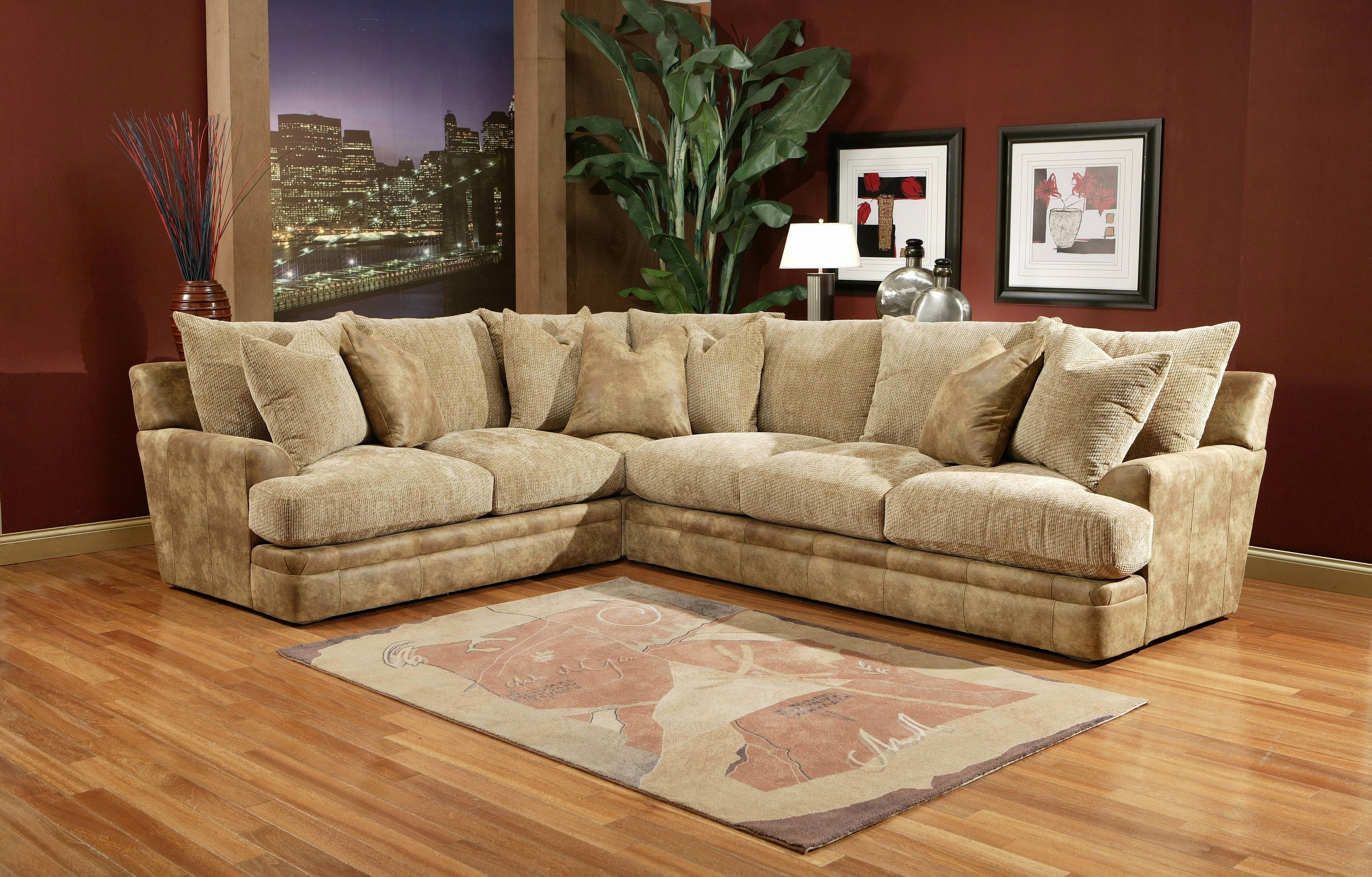 Find Sectional Sofas Super 2018 Popular Down Filled Sectional Sofa In Down Sectional Sofas (Image 3 of 10)