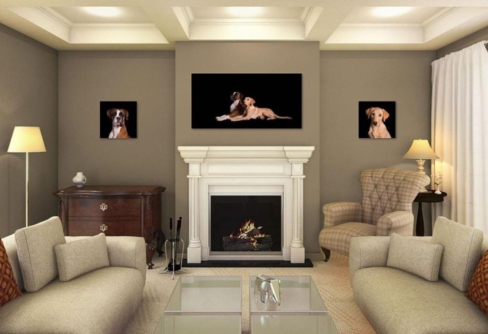 Fireplace Wall Decor – Bm Furnititure In Fireplace Wall Accents (View 6 of 15)