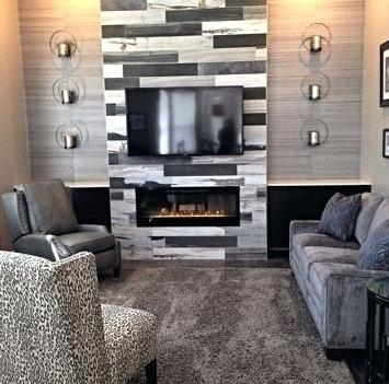 Fireplace Walls Barn Wood Wall Decor Ideas For Ceiling And Inside Fireplace Wall Accents (View 14 of 15)