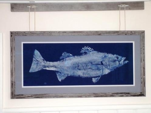 Fish Prints Gyotaku – Barry's Art Room Within Bass Framed Art Prints (View 11 of 15)