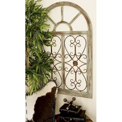 Fleur De Lis Living Blowing Leaves Wall Décor & Reviews | Wayfair Pertaining To Gold Wall Accents (View 6 of 15)