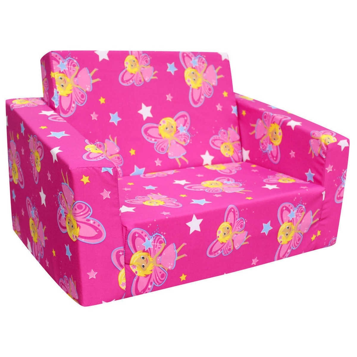 Flip Out Kids Sofa – Home And Textiles In Flip Out Sofas (Image 4 of 10)